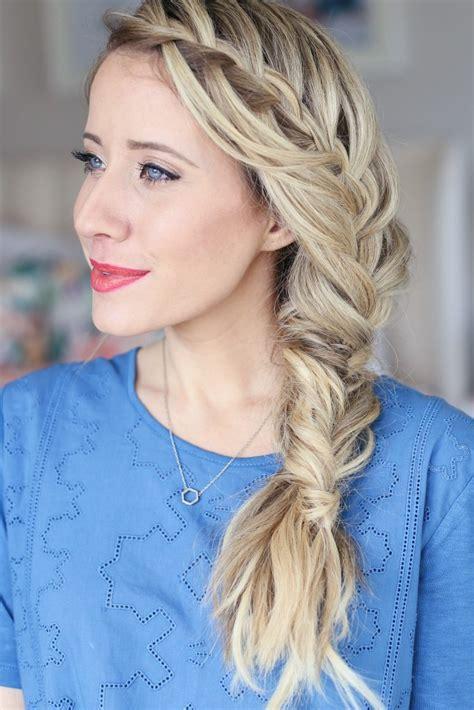 15 creative fishtail braid hairstyles