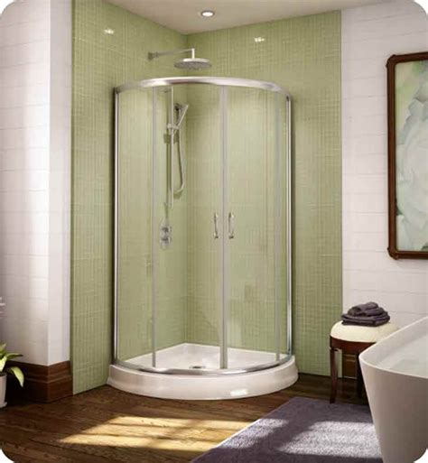 Curved Shower Door by Object Moved
