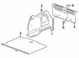 Chevrolet Cruze Liftgate Trim Scuff Plate  Rear