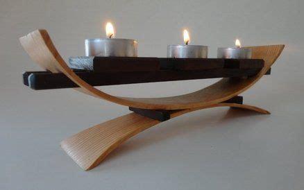 bend wood votive stand   bend wood steam bending wood