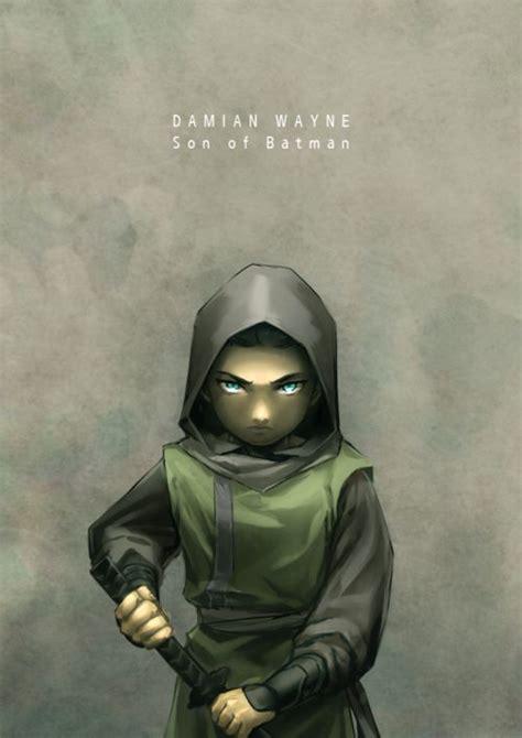 damian wayne batman son robin dc al ghul comics nightwing naomi sons dick anime manof2moro ra universe