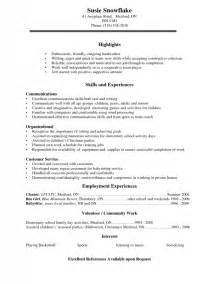 Make Your Own Resume by Make Your Own Resume Free Sles Of Resumes