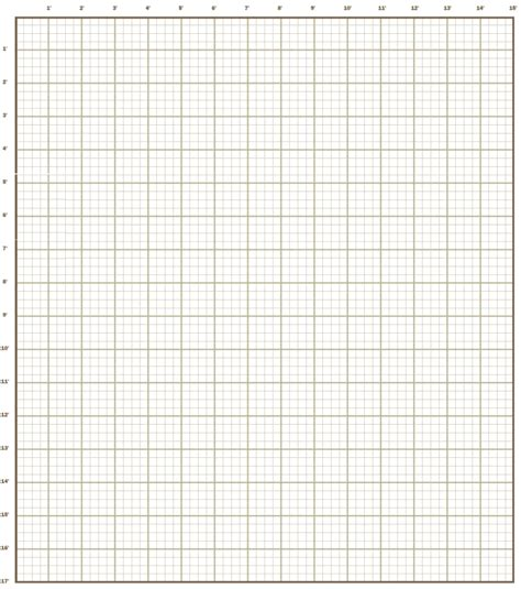 Grid Paper For Kitchen Remodel Floor Plan  Kitchen In