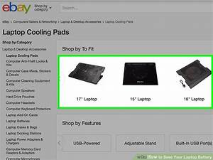 How To Save Your Laptop Battery  9 Steps  With Pictures