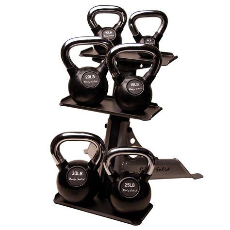 kettlebell rack kettlebells solid handle chrome body kettle bell tier sears