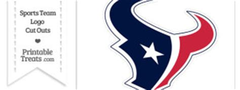 Houston Texans Logo Template by Printable Globe Template Printable Treats