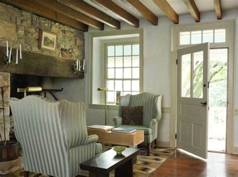 shaker simplicity   stone house  house journal