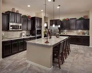 Dark Cabinet Kitchens Houzz