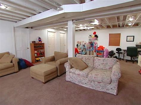 castle inspired basement hgtv unfinished basement decor decorating an unfinushed basement