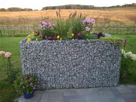 Gabionenhochbeete Als Hingucker Im Garten Gabiona