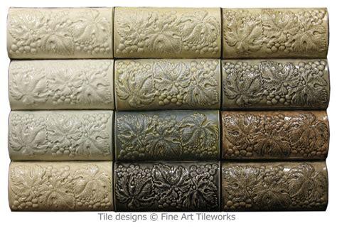 3x6 grapes border tiles tileworks traditional