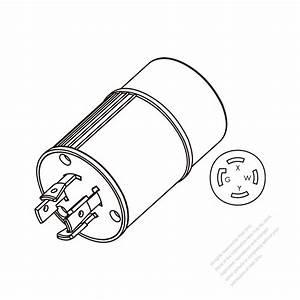 Adapter Plug  Nema L14