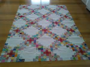 Triple Irish Chain Quilt Pattern