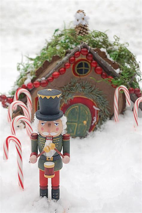 miniature christmas fairy house hgtv