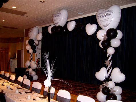 black and white table arrangements wedding table decorations black and white nice decoration