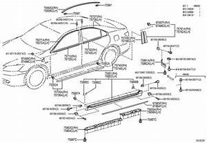 2008 Lexus Es 350 Parts Catalog