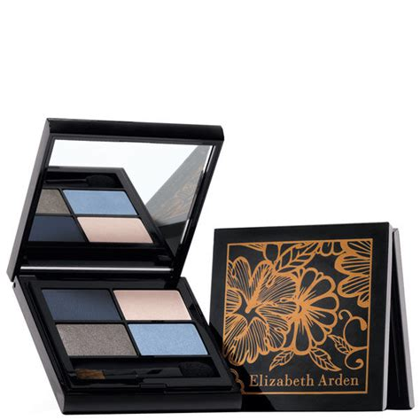 elizabeth arden intrigue eyeshadow quad blue breeze shipping