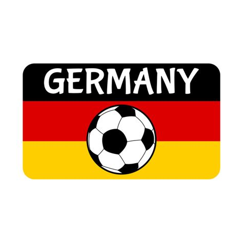 The germany national football team (german: German Flag Football - Football Supporter - T-Shirt ...