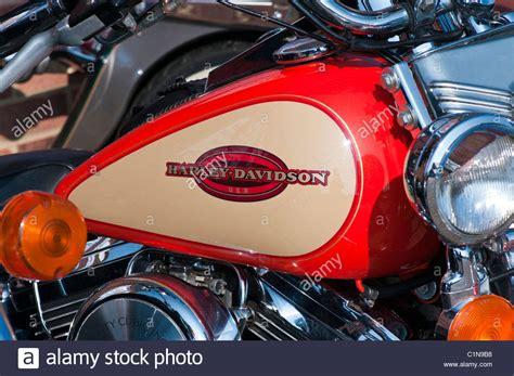 Harley Davidson Fuel Tank Stock Photos & Harley Davidson
