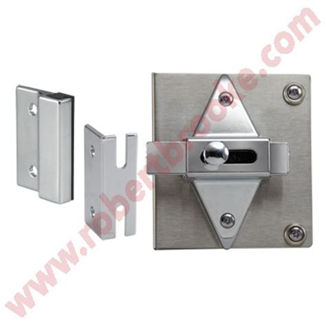 how to fix or replace toilet partition concealed latches