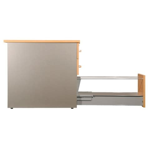 profondeur bureau caisson de bureau 3 tiroirs 80cm de profondeur