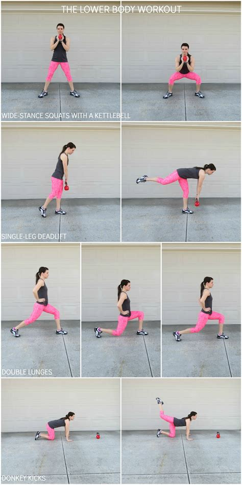 lower body workout workouts kettlebell target fitness hamstrings butt thighs auniesauce sauce aunie low training glutes dynamic easy plyometrics