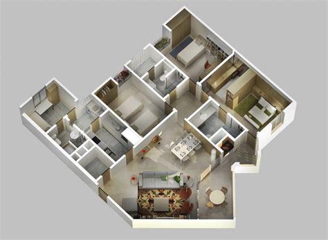 gambar desain  denah rumah minimalis  lantai kamar