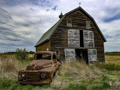 Abandoned Dakota South Towns Ghost Structures Landscape