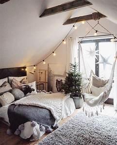 Deco Chambre A Coucher : comment faire une chambre cocooning decoration d ~ Melissatoandfro.com Idées de Décoration