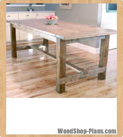 dining room woodshop plans