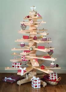Deko Weihnachtsbaum Holz : lustige deko f r weihnachten aus preiswerten materialien ~ Watch28wear.com Haus und Dekorationen