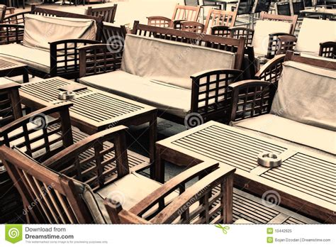 cafe chairs and tables royalty free stock photo image