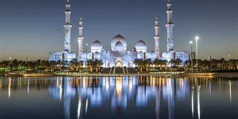 Wallpaper Sheikh Zayed Mosque, Abu Dhabi, 4k, Architecture