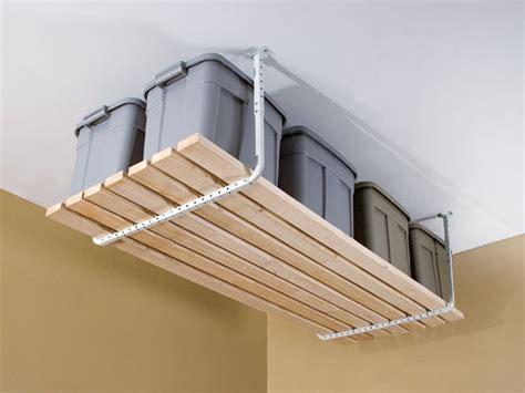 garage ceiling storage is overhead garage storage a wise decision elliott spour