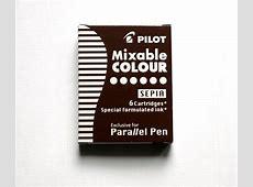 Pilot Sepia Ink Cartridges Wills Quills