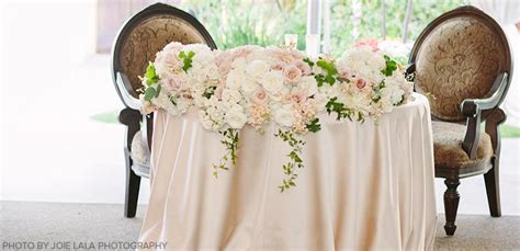 Head Table or Sweetheart Table: Which is Right for You