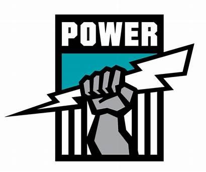 Port Power Adelaide Logos