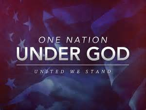 One Nation Under God United We Stand