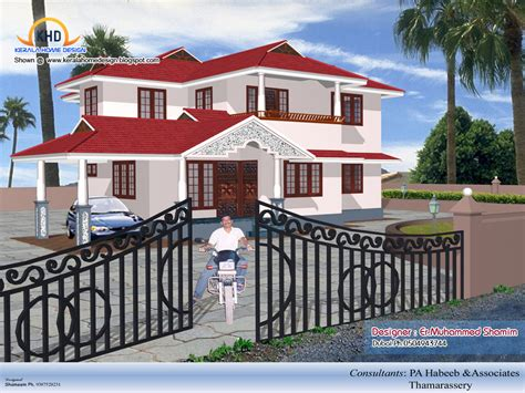 small style house plans design home 3d on 1600x1067 3d isometric views of small house plans kerala home design and