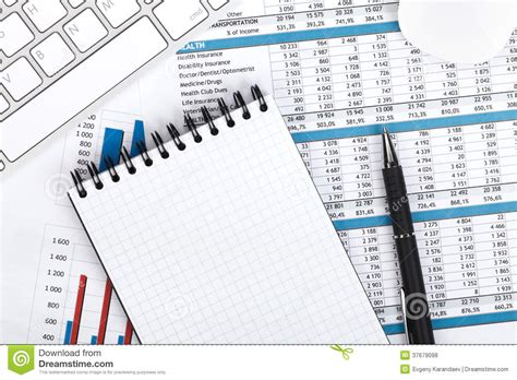 fourniture de bureau jpg papiers ordinateur et fournitures de bureau financiers