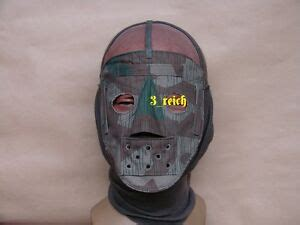ww german wehrmacht camouflage mask reproduction ebay