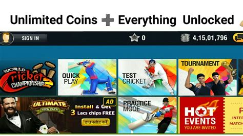 wcc modhack version unlimited coins