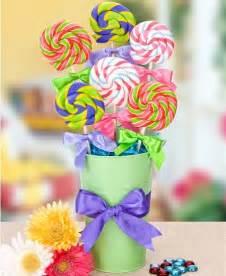 Lollipop Centerpiece Candy Ideas