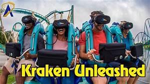 Kraken Unleashed Virtual Reality Roller Coaster Highlights ...