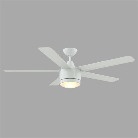 Home Decorators Collection Merwry 52 In Led Indoor White