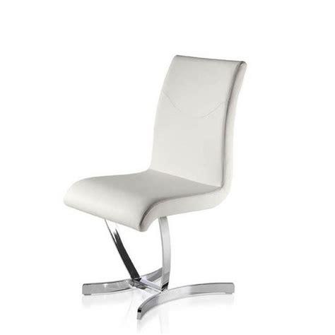 chaise de salle à manger design chaises salle à manger design blanches chaise idées de