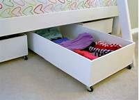 under the bed storage Underbed Storage - Creative Storage Ideas - 9 Spots You Aren't Using - Bob Vila