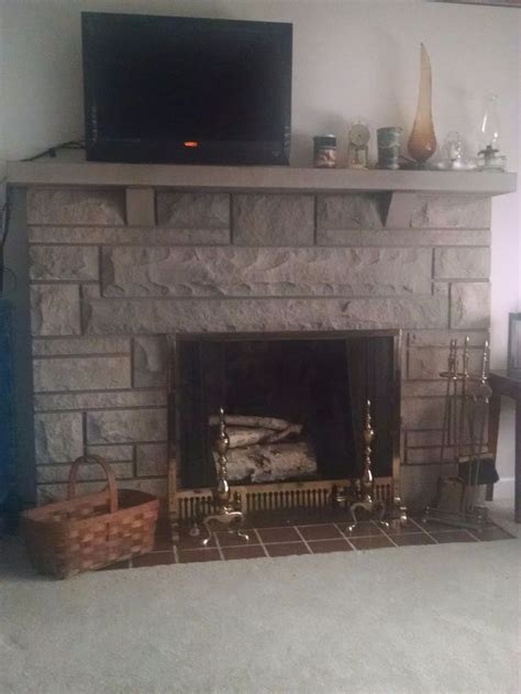 update ideas  bedford stone fireplace stone