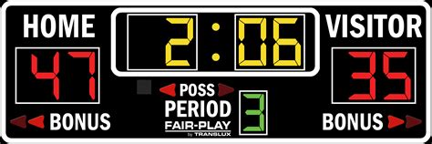 Bb16004  Fairplay Scoreboards