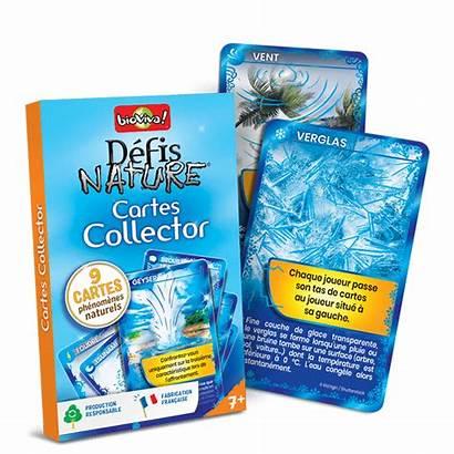 Nature Cartes Defis Pack Collector Bleu